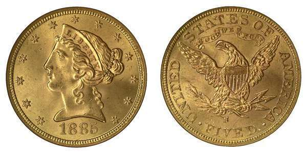 Half Eagle Liberty Type